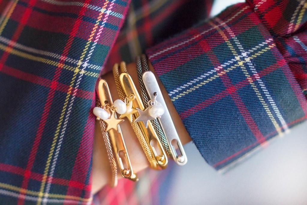 pulseras-cadena-de-serpiente-y-piezarigida-con-estrella-y-perla